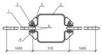 Оттяжка ОТ-3 (3.407.1-143.8.45), 9,6 кг